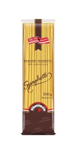 Makaron Spaghetti Opakowanie jednostkowe: 500g Ilość wkartonie: 24 szt./12 kg